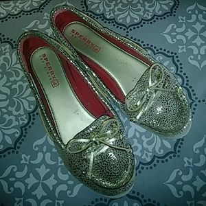 SPERRY TOP-SIDER GOLD GIRL SIZE 2.5